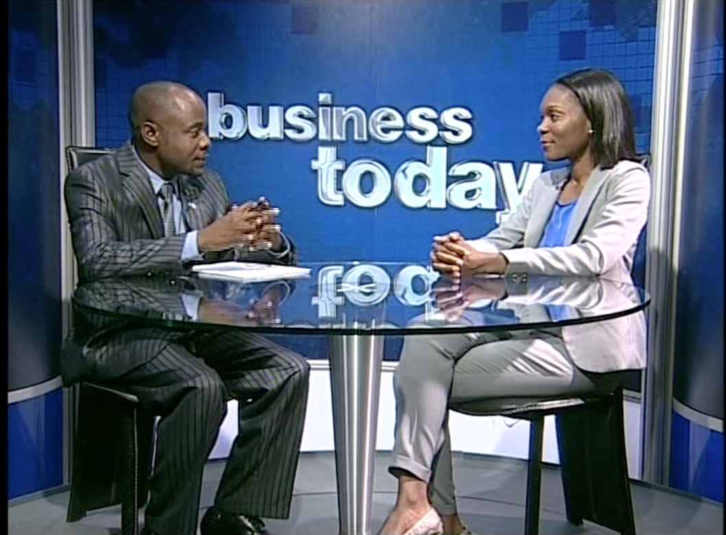 Team Namibia on Business Today